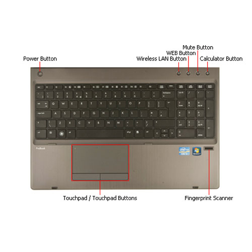 Notebook HP ProBook 6570b  Download drivers for Windows 7