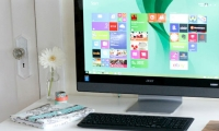 Acer Aspire AZ3-615 - review and specifications of 23-inch monoblock PC with touchscreen